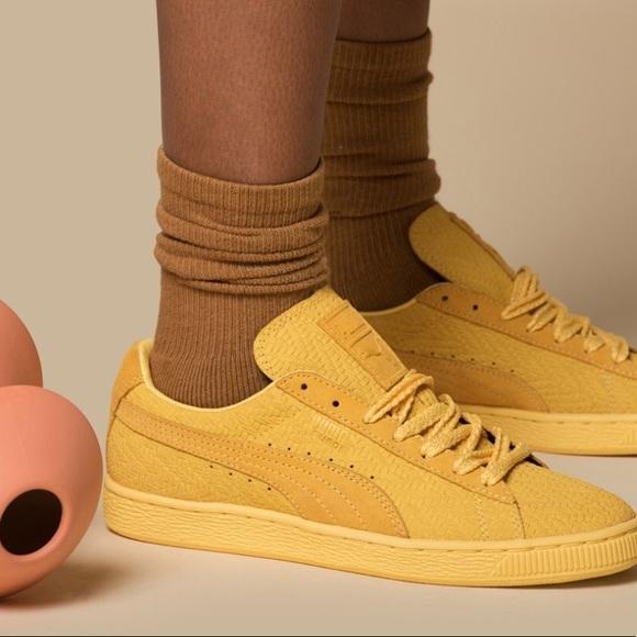 Solange Suede Classic Woven Shoe | Poshmark